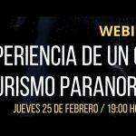 Exitoso webinar de turismo paranormal se realizó junto a César Parra